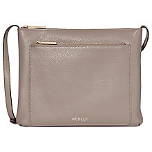 Buy Modalu Lulu Leather Cross Body Bag Online at johnlewis.com