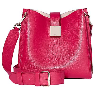 Modalu Megan Leather Mini Bucket Bag