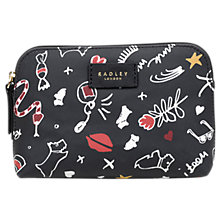 Buy Radley Sugar & Spice Small Zip-Top Pouch Purse, Ink Online at johnlewis.com