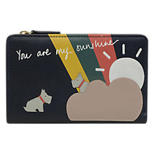 Buy Radley Sunshine Leather Medium Zip Purse Online at johnlewis.com