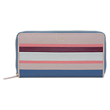 Buy Radley Wren Street Leather Large Zip Around Matinee Purse, Multi Online at johnlewis.com