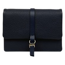 Buy Radley Merton Road Medium Leather Flapover Purse, Ink Online at johnlewis.com