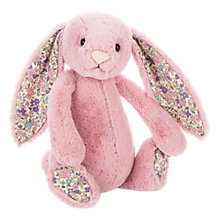 Buy Jellycat Blossom Tulip Bunny Chime Soft Toy, Medium, Pink Online at johnlewis.com