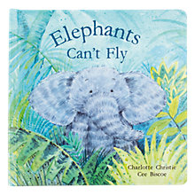 Buy Jellycat Elephants Can't Fly Book Online at johnlewis.com