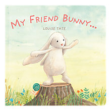 Buy Jellycat My Friend Bunny Book Online at johnlewis.com