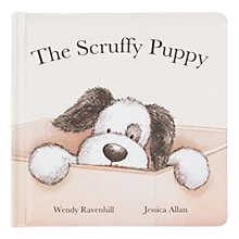 Buy Jellycat The Scruffy Puppy Book Online at johnlewis.com