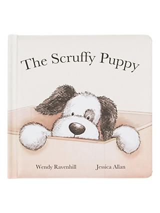 Jellycat The Scruffy Puppy Children's Book