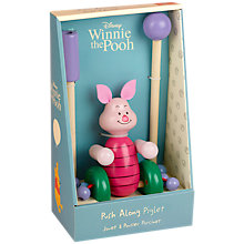 Buy Orange Tree Winnie the Pooh Piglet Push Along Online at johnlewis.com