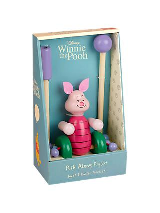 Orange Tree Winnie the Pooh Piglet Push Along