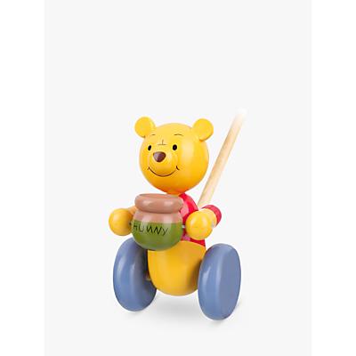 Orange Tree Winnie the Pooh Push Along Wooden Toy