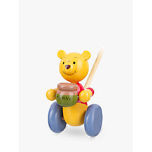 Buy Orange Tree Winnie the Pooh Push Along Online at johnlewis.com