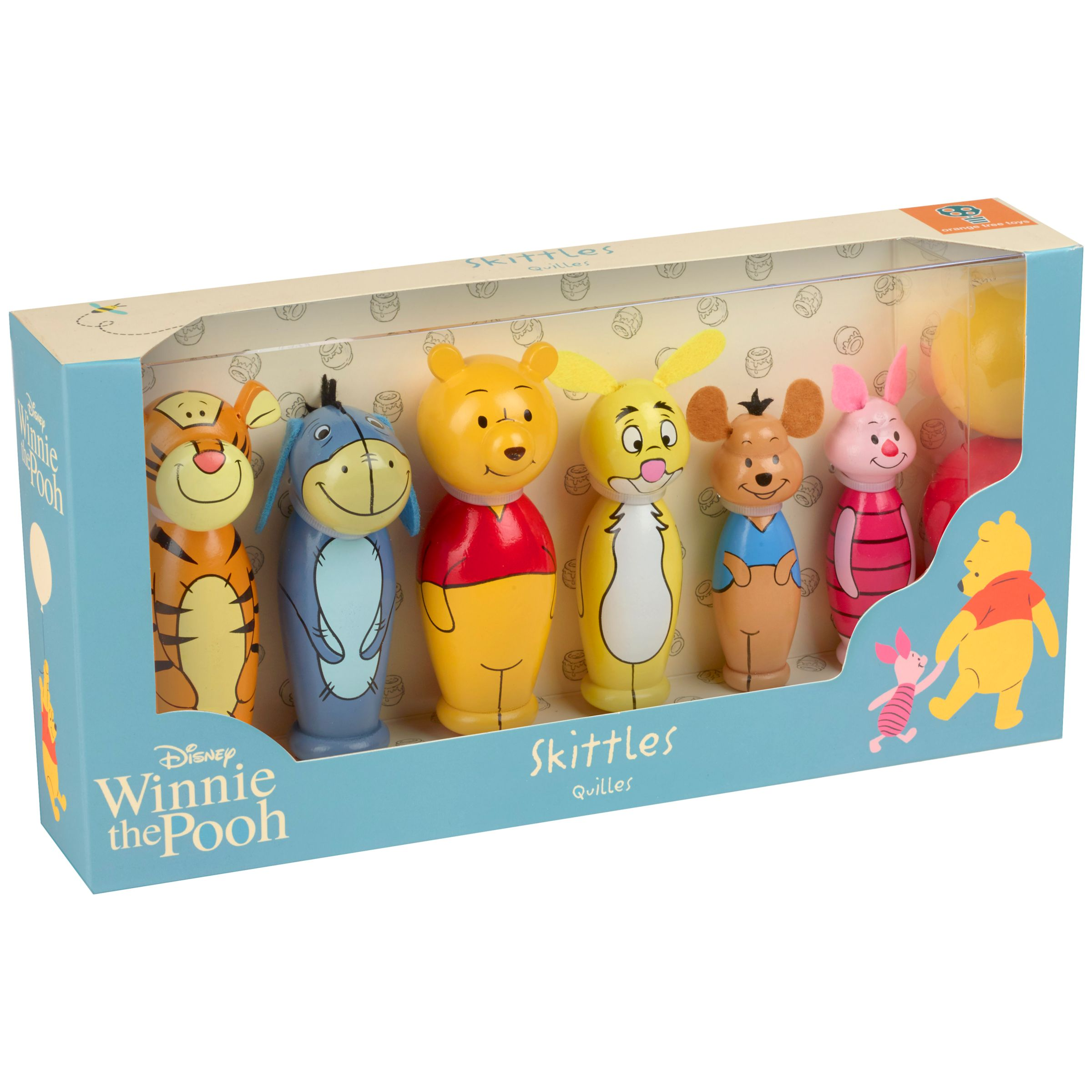 Orange Tree Winnie the Pooh Skittles Wooden Toy