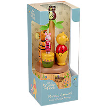 Buy Orange Tree Winnie the Pooh Musical Carousel Box Online at johnlewis.com
