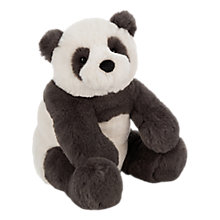 Buy Jellycat Harry Panda Cub Soft Toy, Medium, White Online at johnlewis.com