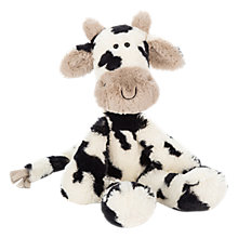 Buy Jellycat Merryday Cow Soft Toy, One Size, Black/White Online at johnlewis.com
