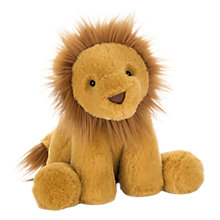 Buy Jellycat Smudge Lion Soft Toy, One Size, Yellow Online at johnlewis.com