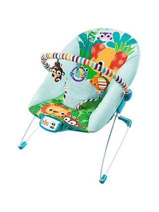 Bright Starts Safari Bouncer  sc 1 st  John Lewis & Baby Bouncer Rockers \u0026 Swings | John Lewis \u0026 Partners