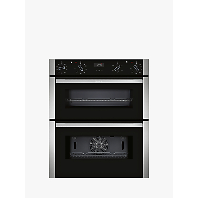 Image of Neff J1ACE2HN0B Built-Under Double Oven, Stainless Steel