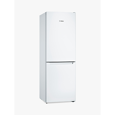 Bosch KGN33NW3AG Freestanding Fridge Freezer, A++ Energy Rating, 60cm Wide, White