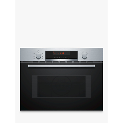 Image of Bosch CMA583MS0B 900W Built in Microwave combination
