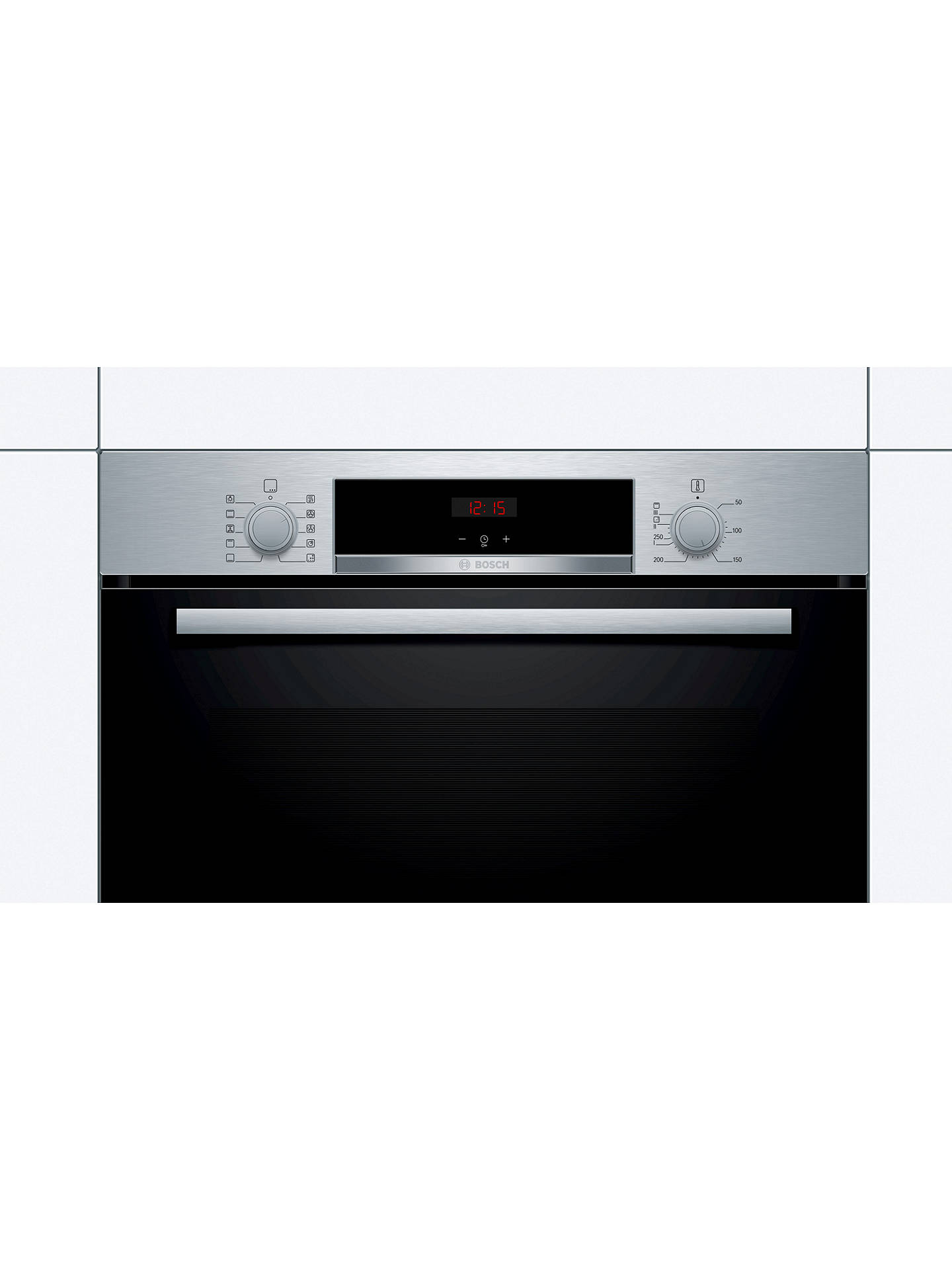 BuyBosch HBS534BS0B Built-In Single Oven, Stainless Steel Online at johnlewis.com