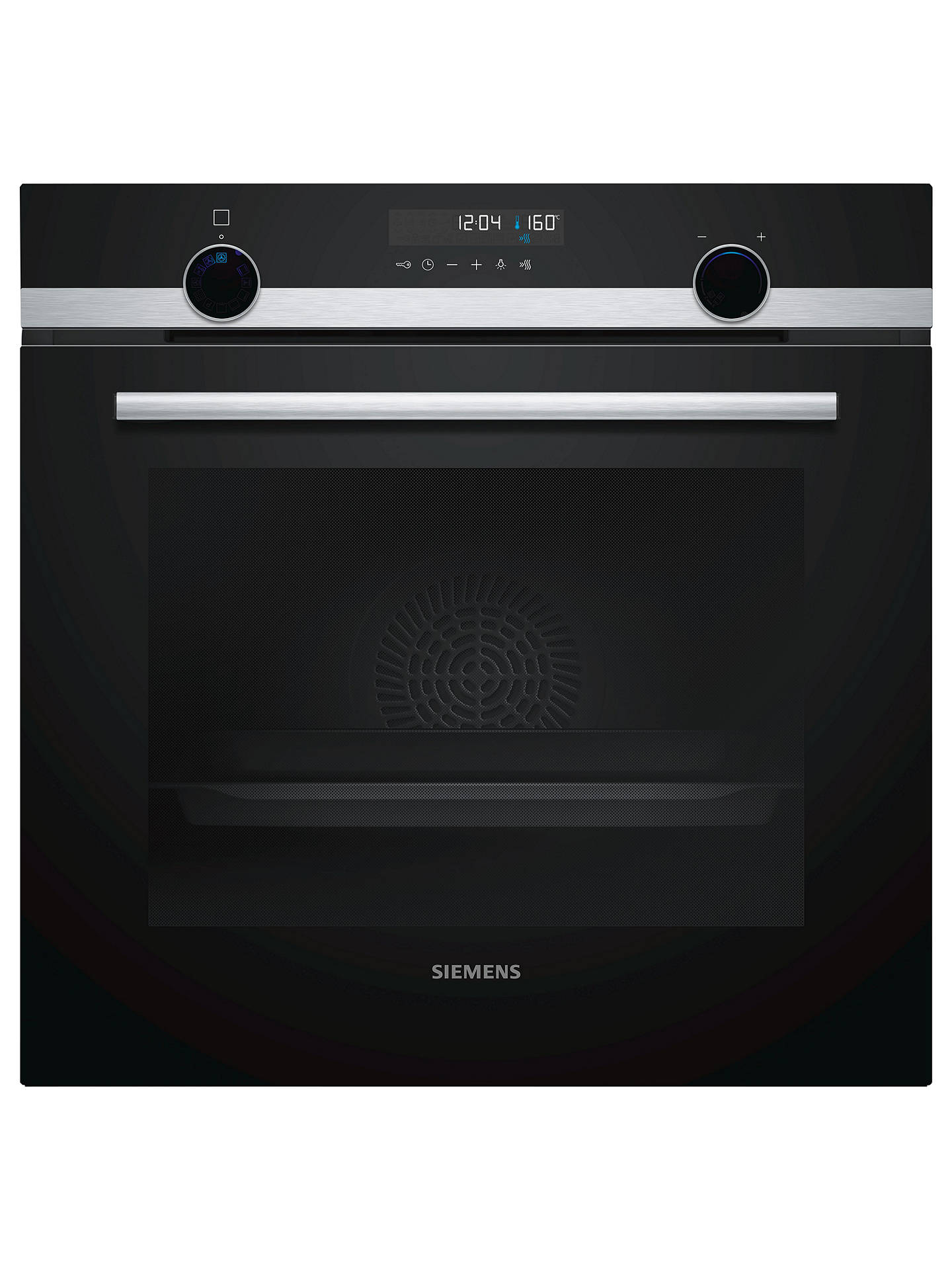 BuySiemens HB578A0S0B Built-In Single Oven, Stainless Steel Online at johnlewis.com