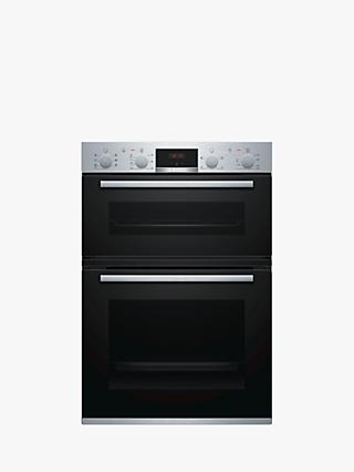Bosch MBS533BS0B Built-In Double Oven, Stainless Steel