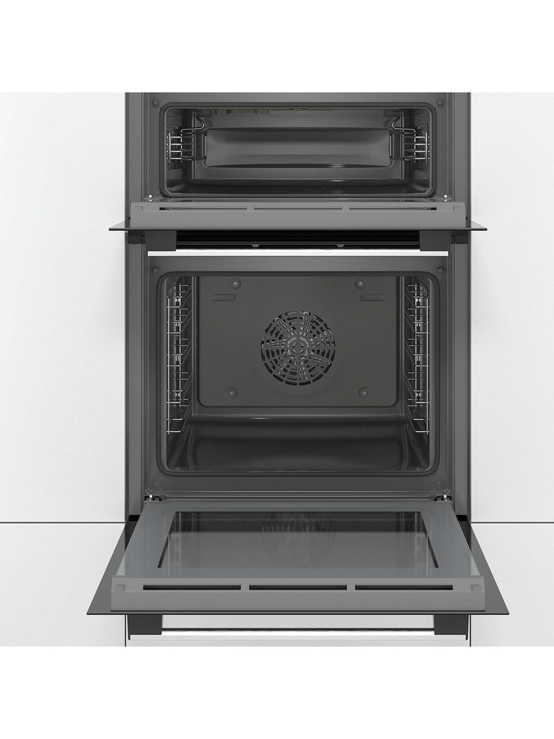 Buy Bosch MBS533BS0B Built-In Double Oven, Stainless Steel Online at johnlewis.com