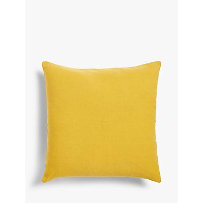 John Lewis & Partners Plain Cotton Cushion
