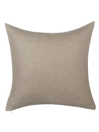 Croft Collection Herringbone Linen Cushion