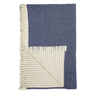 John Lewis Brushed Cotton Throw