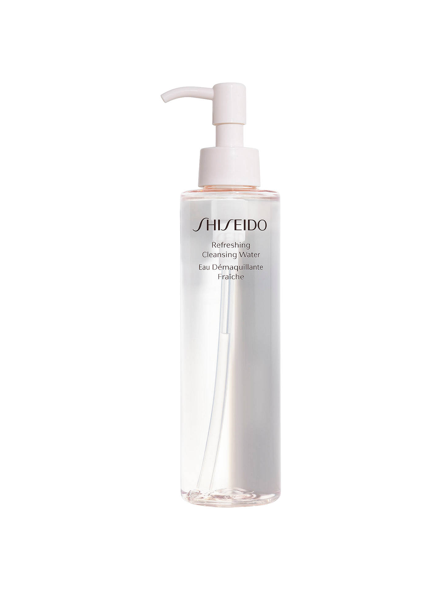 Buy Shiseido Refreshing Cleansing Water, 180ml Online at johnlewis.com