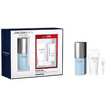 Buy Shiseido Men Hydro Master Gel Skincare Gift Set Online at johnlewis.com