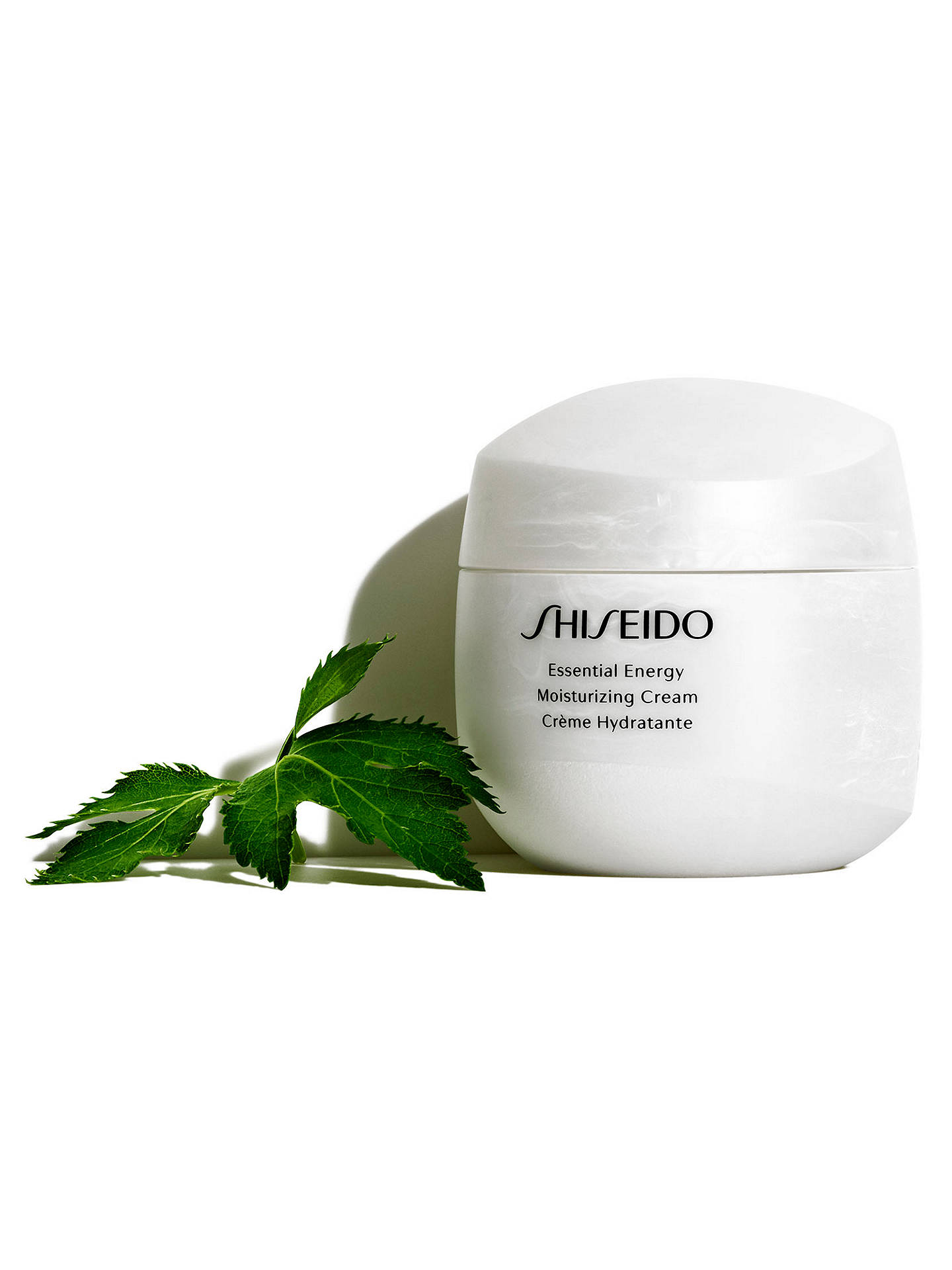 Buy Shiseido Essential Energy Moisturising Cream, 50ml Online at johnlewis.com