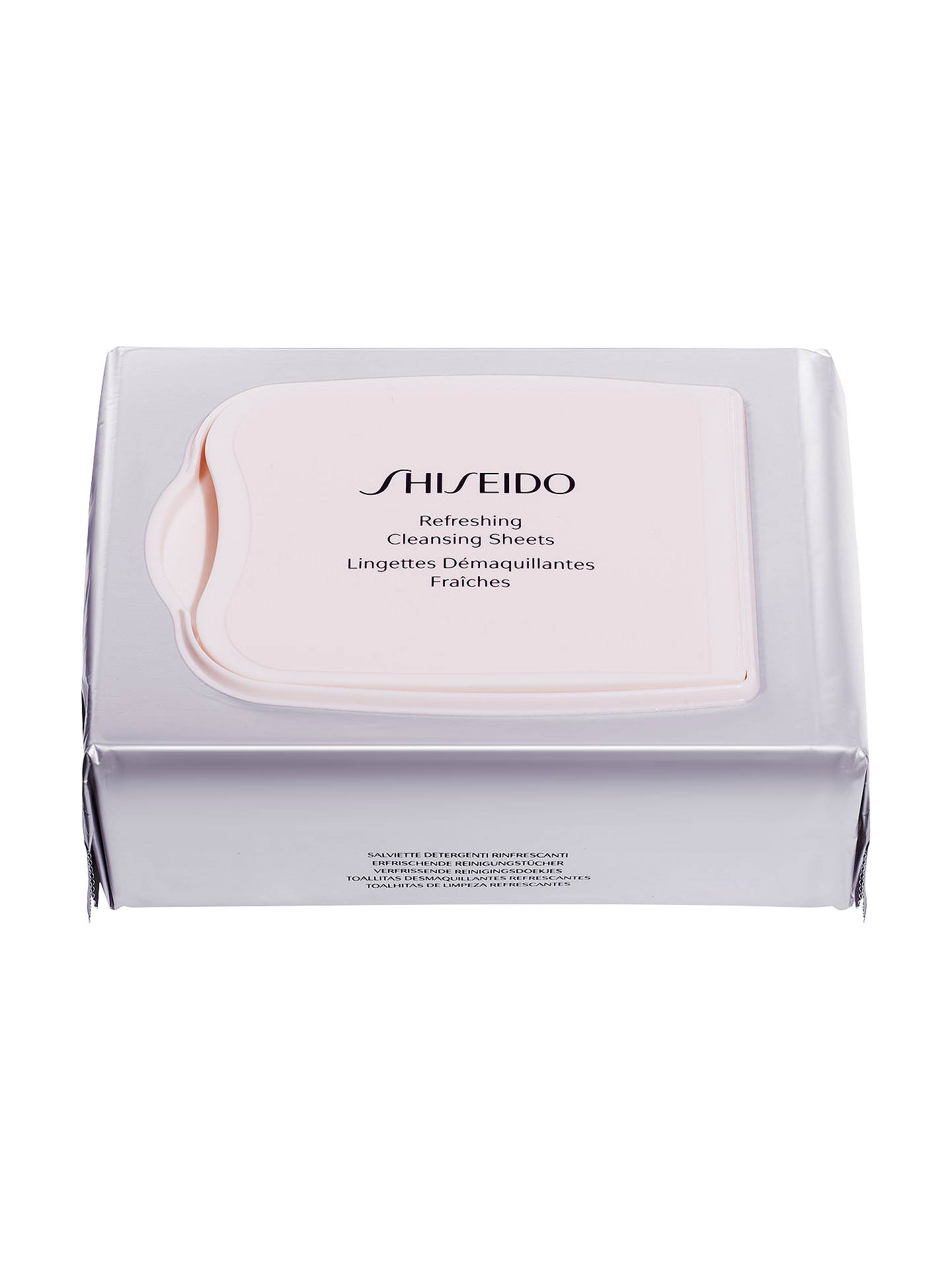 BuyShiseido Refreshing Cleansing Sheets, x 30 Online at johnlewis.com
