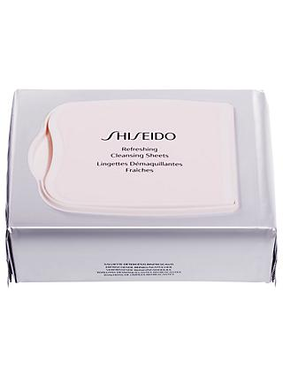 Shiseido Refreshing Cleansing Sheets, x 30