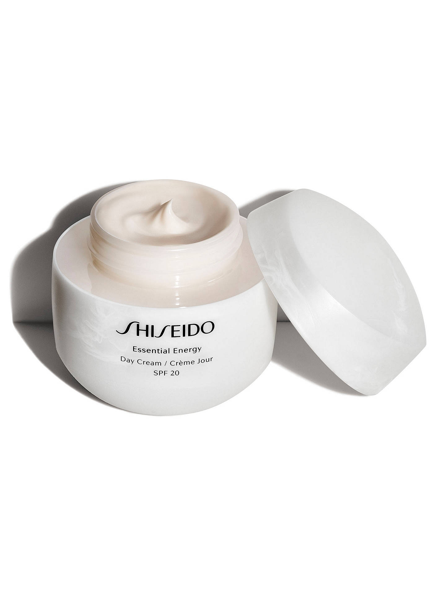 Buy Shiseido Essential Energy Day Cream SPF 20, 50ml Online at johnlewis.com
