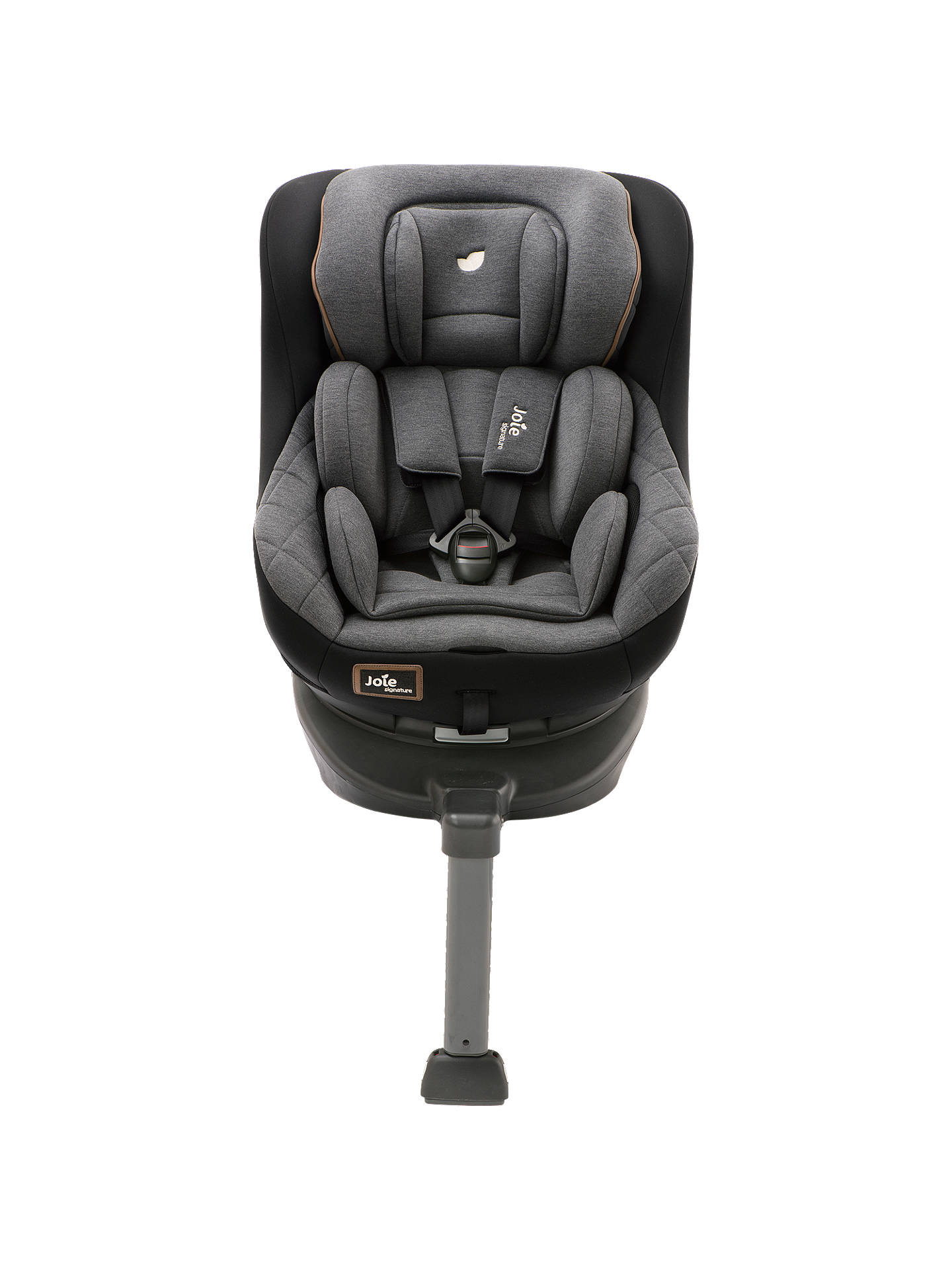 joie baby spin 360 signature group 0 1 car seat noir at john lewis partners. Black Bedroom Furniture Sets. Home Design Ideas