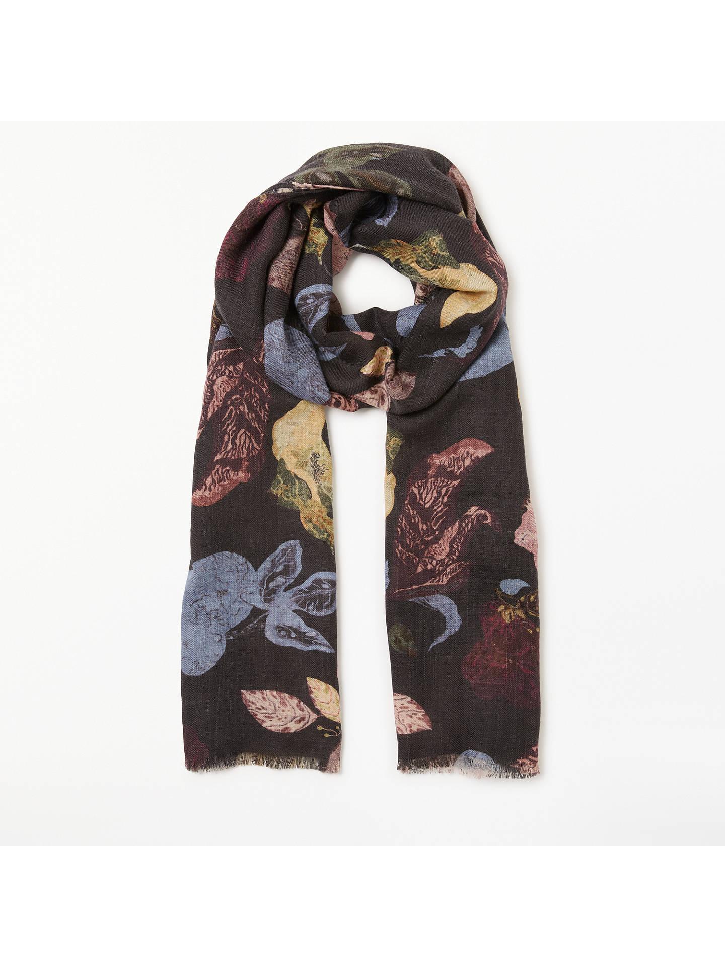 bf25a552ae99 BuyModern Rarity Bohemian Floral Wool and Silk Scarf