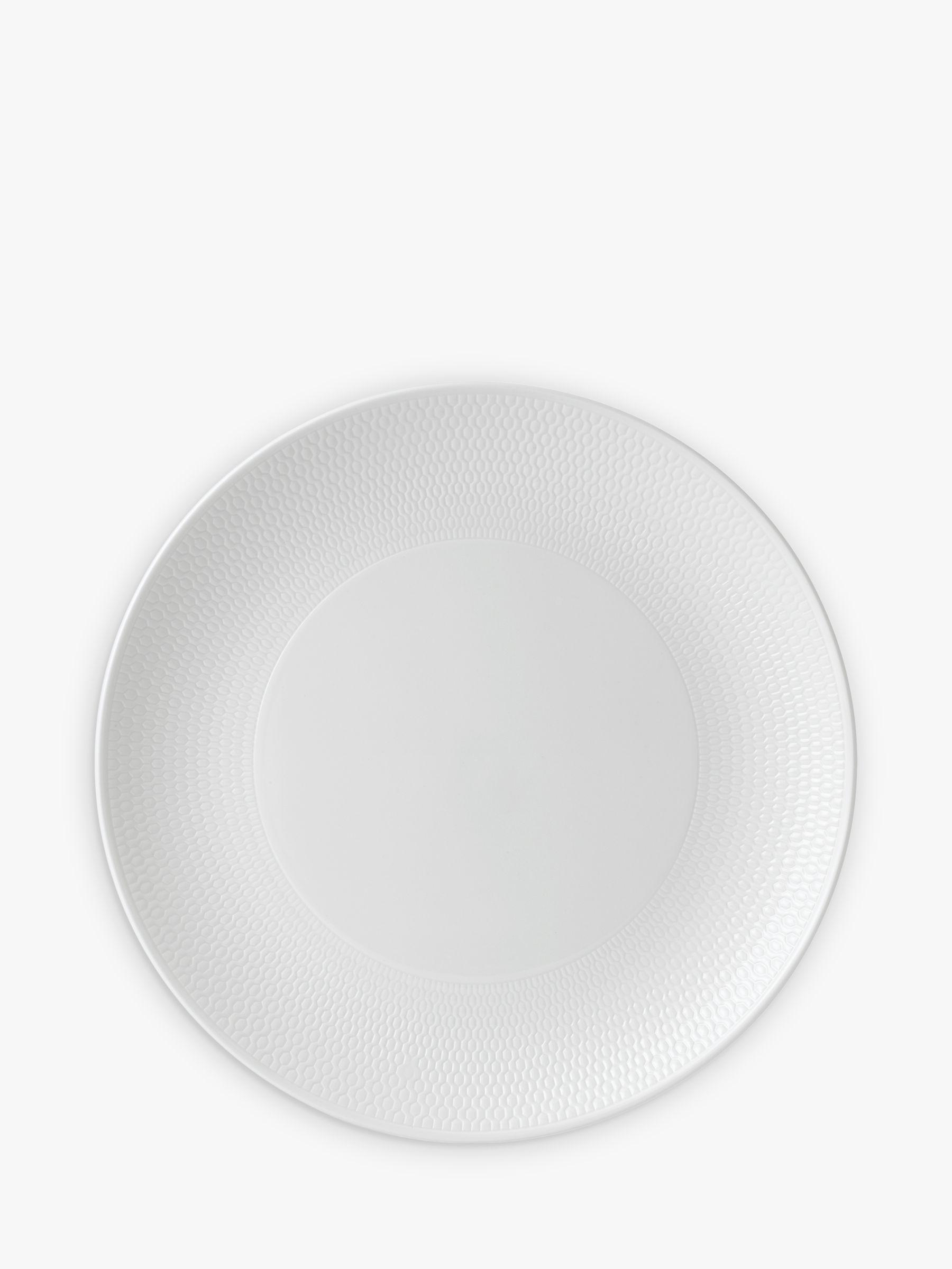 Wedgwood Wedgwood Gio Dinner Plate, White, Dia.28cm