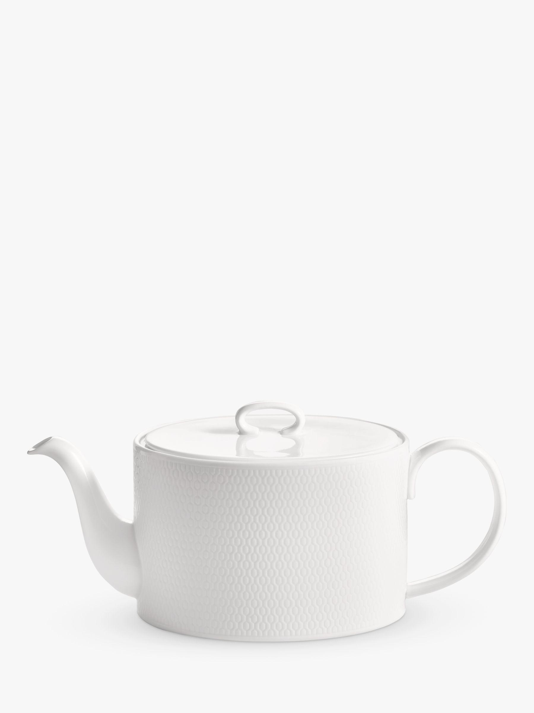 Wedgwood Wedgwood Gio 4 Cup Teapot, White, 1L