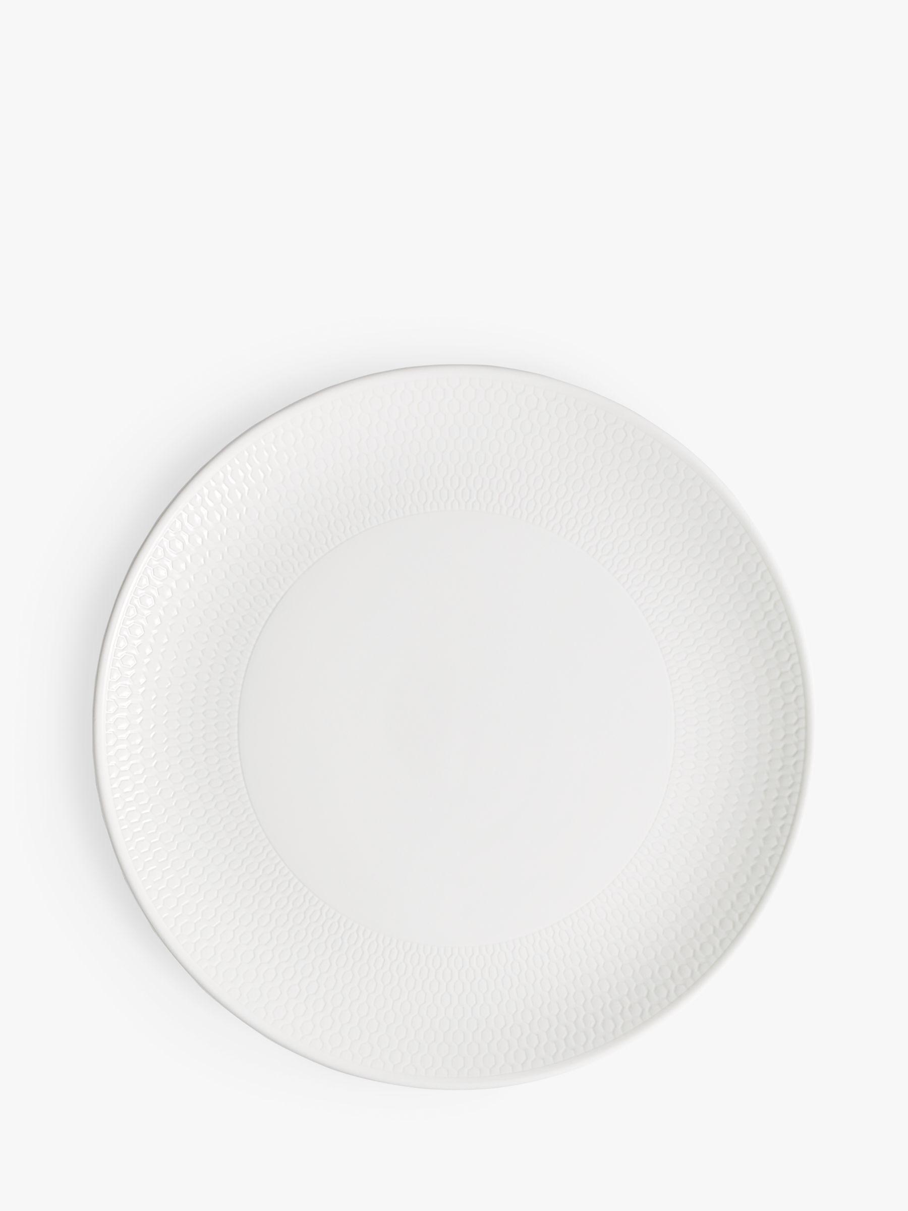 Wedgwood Wedgwood Gio Side Plate, White, Dia.23cm