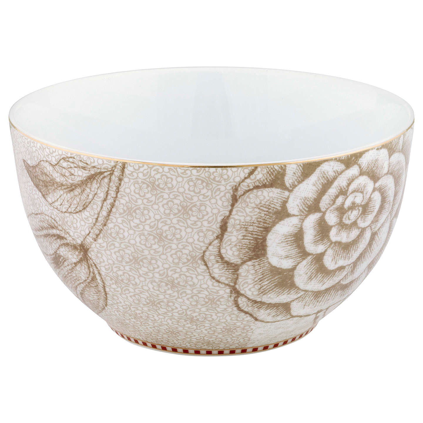 BuyPiP Studio Spring To Life Bowl, Dia.15cm, Off White Online at johnlewis.com