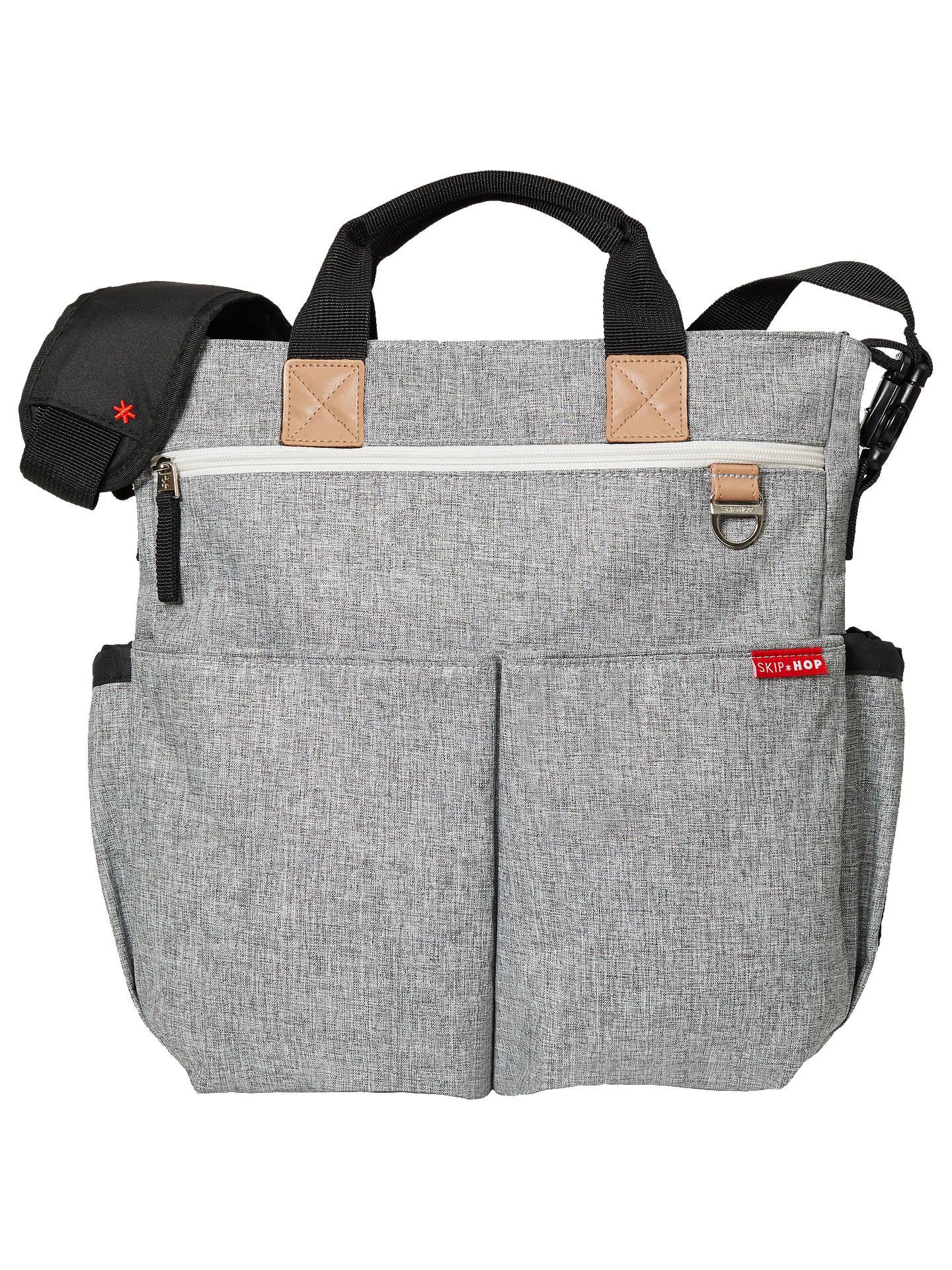 79babddffdc6 Buy Skip Hop Duo Signature Changing Bag, Mid Grey Online at johnlewis.com  ...