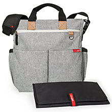 Buy Skip Hop Duo Signature Changing Bag, Mid Grey Online at johnlewis.com