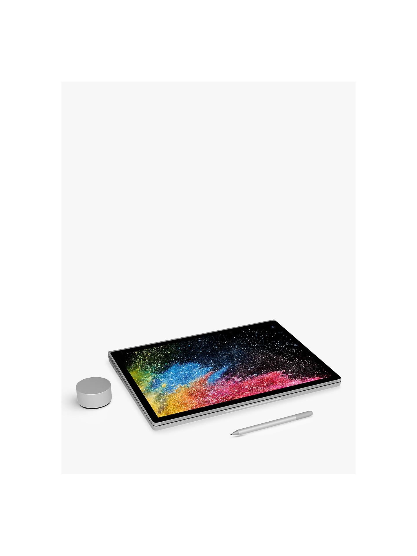 "Microsoft Surface Book 2, Intel Core i7, 16GB RAM, 256GB SSD, 15"",  PixelSense Display, GeForce GTX 1060, Silver"
