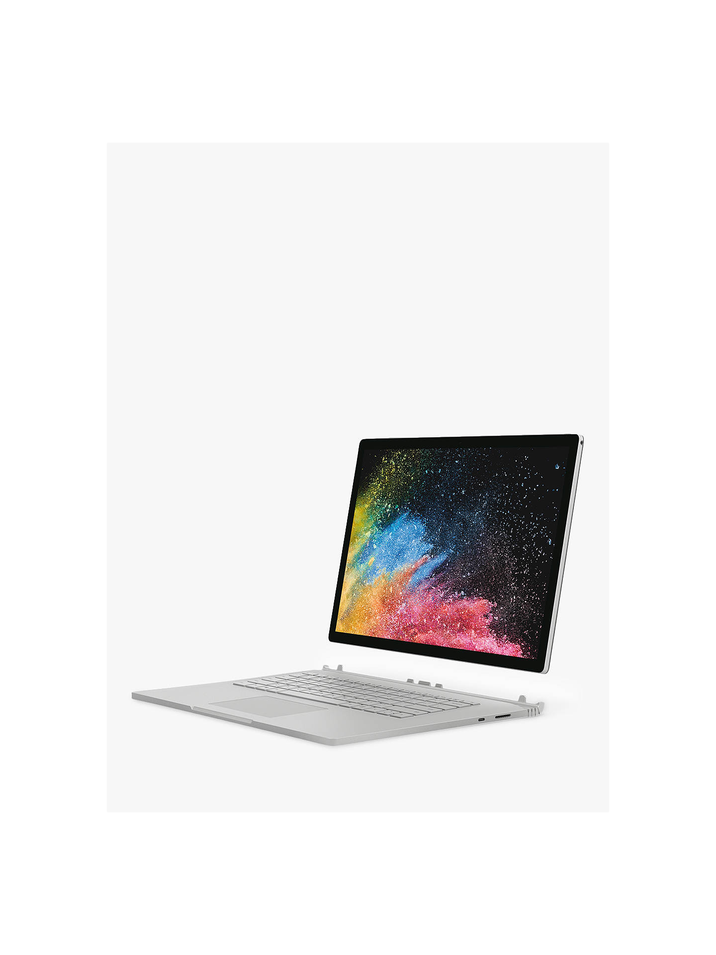 "Microsoft Surface Book 2, Intel Core i7, 16GB RAM, 1TB SSD, 15"", PixelSense  Display, GeForce GTX 1060, Silver"