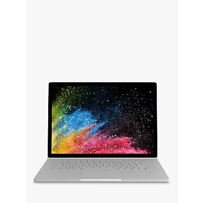 "Image of Microsoft Surface Book 2, Intel Core i7, 16GB RAM, 512GB SSD, 15"", PixelSense Display, GeForce GTX 1060, Silver"