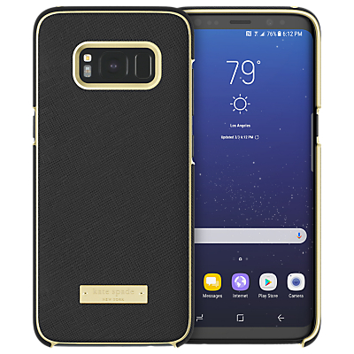 Image of kate spade new york Wrap Case for Samsung Galaxy S8, Saffiano Black