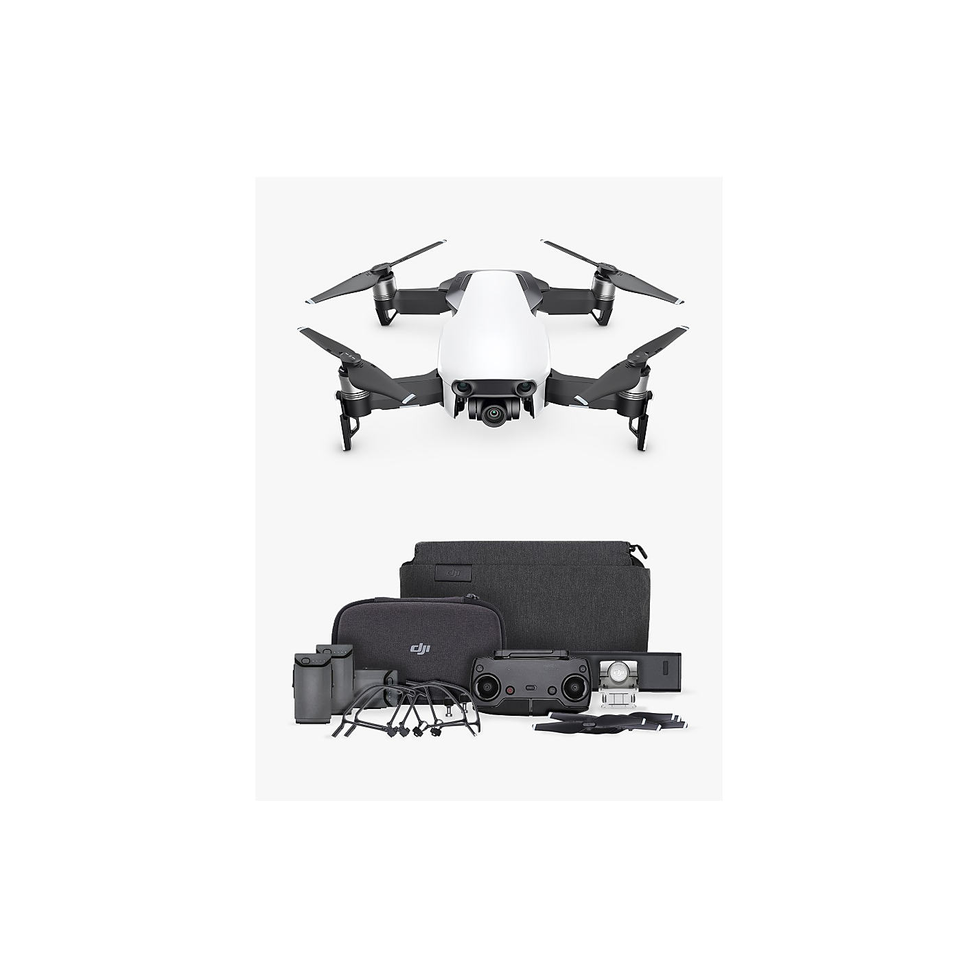 Buy Dji Mavic Air Drone Fly More Combo John Lewis # Fly Meubles Audio Bois